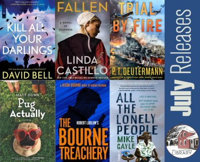 New Adult Book Releases for July 2021