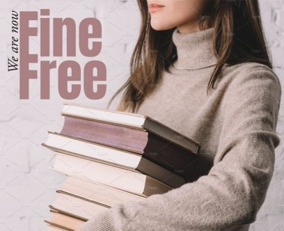 Williamstown Library is Now Fine Free!